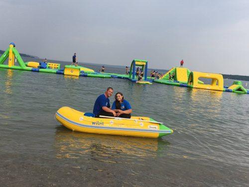 Splash ON Owner Brittany with Matt